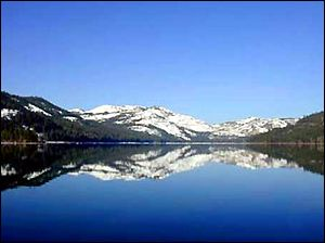 Swim boat fish at tahoe donner beach club and marina on for Donner lake fishing report